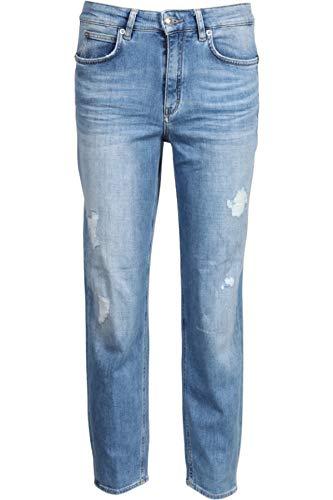 Drykorn Damen Jeans Mom mit Destroyed-Effekten 29W / 32L