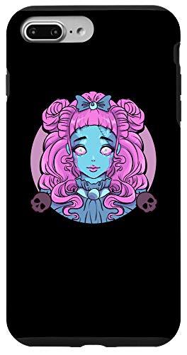 iPhone 7 Plus/8 Plus Pastel Goth Porcelain Doll Crying Tears Case -  Pastel Goth Porcelain Doll Crying Tears Designs