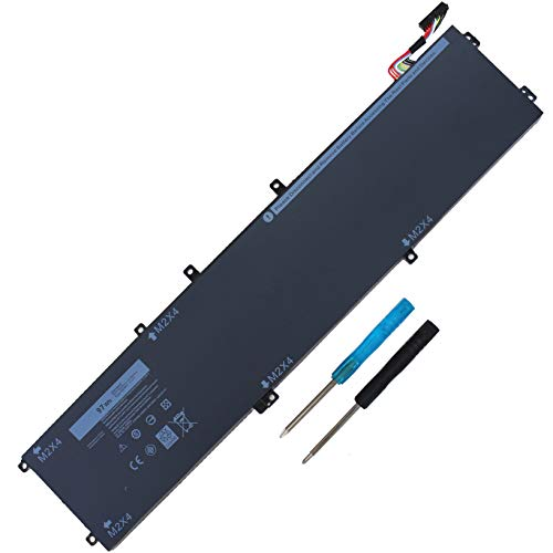 New 6GTPY Battery Compatible with Dell XPS 15 9550 9560 9570 Precision 5510 5520 M5510 M5520 5XJ28 Sereis (11.4V 97WH)