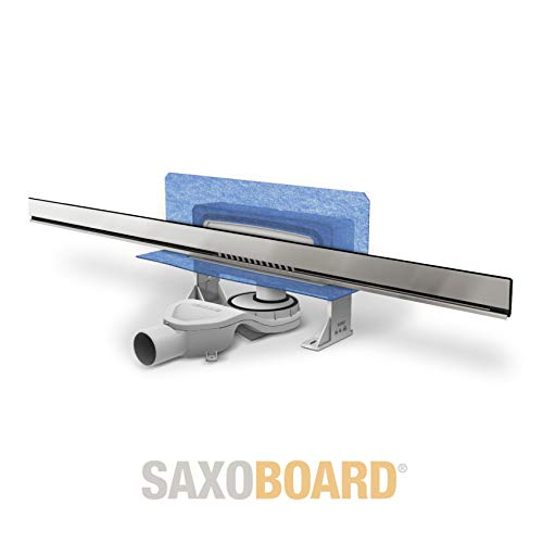 Saxoboard Wandablauf 120 cm individuell kürzbar bis 30 cm