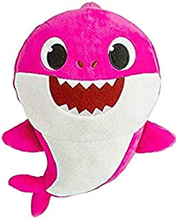 BabyShark Singing Plush - Music Sound Baby Shark Plush Doll Soft Baby Cartoon Shark Stuffed & Plush Toys Singing English S...