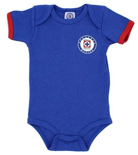 Cruz Azul Pañalero Futbol Soccer Original Ropa de Bebé (3-6 Meses)