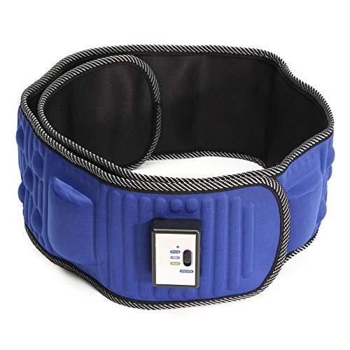 QSCFT Massaggio Elettrico Cintura Dimagrante Vita Vibrante Esercizio Gamba Pancia Brucia Grassi Riscaldamento Addome Massaggiatore Cintura Dimagrante