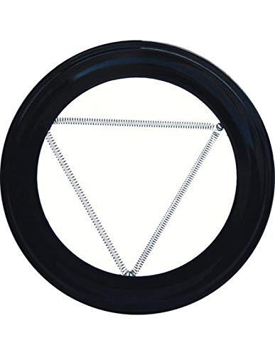 WOLFPACK LINEA PROFESIONAL 22010920 Plafón Embellecedor de Color Negro para Estufa 200 mm