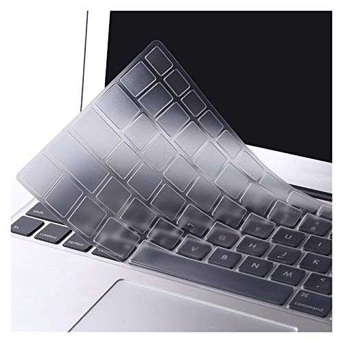 TPU Transparent Clear Keyboard Cover Skin Sticker for Macbook Air Pro Retina 11 12 13 15 inch US version A1932 A2289 Waterproof Anti-Dust (Color : Air 11 inch)