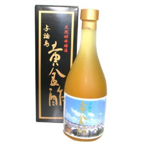 きび酢 天然酵母醸造 与論島 黄金酢 500ml