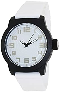 Kenneth Cole Reaction White Rubber Strap Men's watch #RK1311