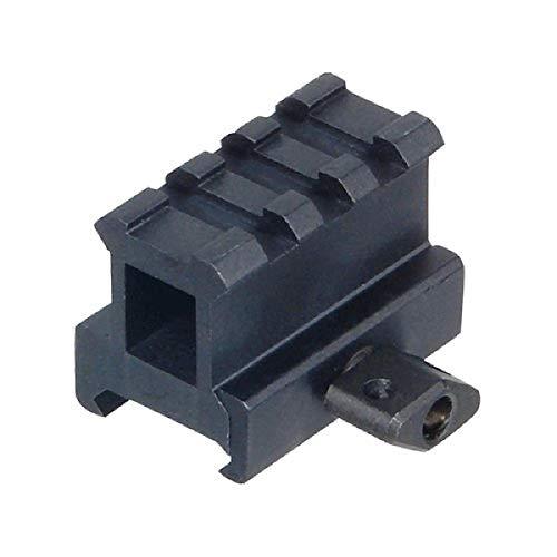 UTG Erwachsene 1 inch 3-Slot Riser/Montage-Erhöhung 25 mm High Picatinny/Weaver Montageschiene, Schwarz, M
