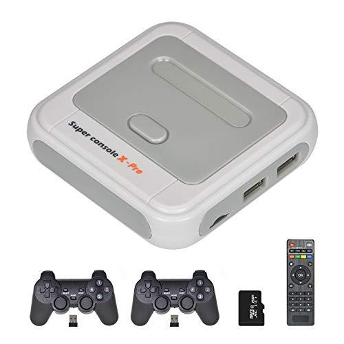 TAPDRA 256G Opcional Super Console X Pro Games hasta 50,000+ Consola de Juegos Retro Controladores inalámbricos Game Station Kit
