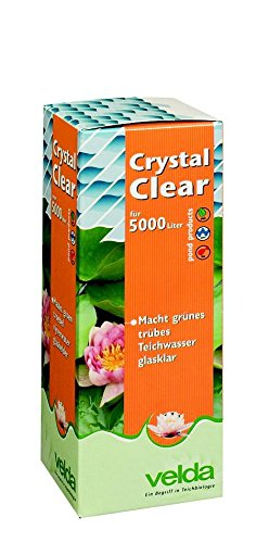Velda, clarificateur d'eau pour bassin de jardin Crystal Clear 500 ml, 120033