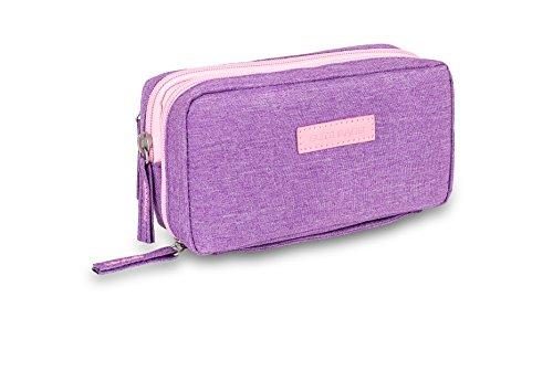Bolsa estuche isotérmico para diabéticos | Diabetic´s | Elite Bags | Color: morado | Para plumas de insulina y glucómetros ⭐