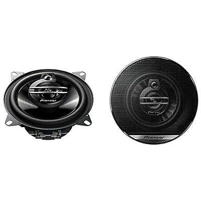 Pioneer TS-G1030F 3 Way Speaker, 100mm Diameter, Black from Pioneer Car Multimedia