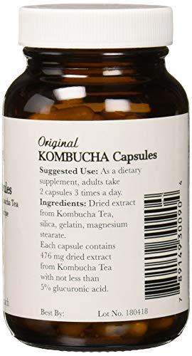 Pronatura Kombucha Capsules, 580 Mg, 90 Capsules