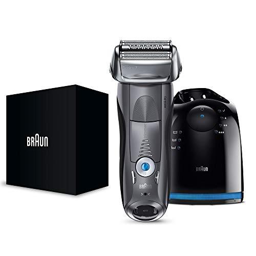 【洗浄器付き】 ブラウン シリーズ7 メンズ電気シェーバー 7867cc 4カットシステム 洗浄器付 水洗い/お風呂剃り可