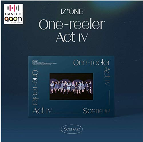 IZ*ONE - 'One-Reeler' / Act IV [Scene #2 ver.] (4th Mini Album) [Pre Order] CD+Photobook+Folded Poster+Others with Tracking, Extra Decorative Stickers, Photocards