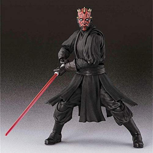 Aoolomy Anime Cartoon Game Character Modell Planet Kriege Darth Maul Bewegliche Figur Ornament 15Cm Statue Collectibles Dekorationen Geschenke Lieblings Von Anime-Fan