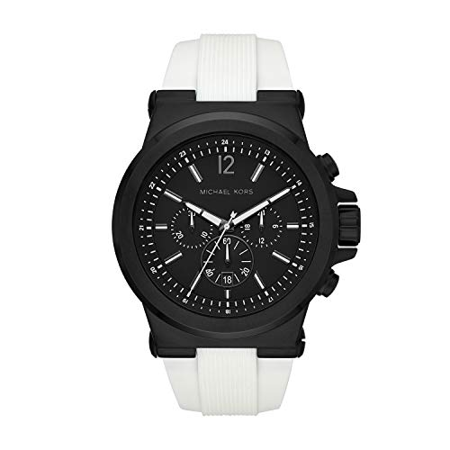 Michael Kors Men's Dylan Chronograph Black-Tone Stainless Steel Watch MK8810