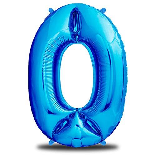 envami Globos de Cumpleãnos 6 Azul I 101 CM Globo 6 Años I Globo Numero 6 I Decoracion 6 Cumpleaños Niño I Globos Numeros Gigantes para Fiestas I Vuelan con Helio