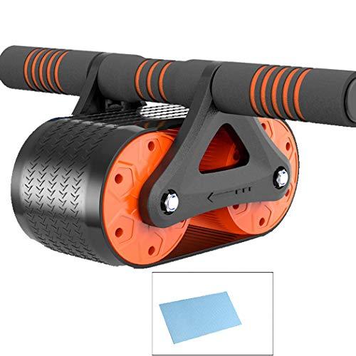 GJFeng FE Rebound Abdominale Wielen Thuis Push-ups Roller Lagers Lederen Wielen Mute Fitness Equipment 35 * 15 * 14cm