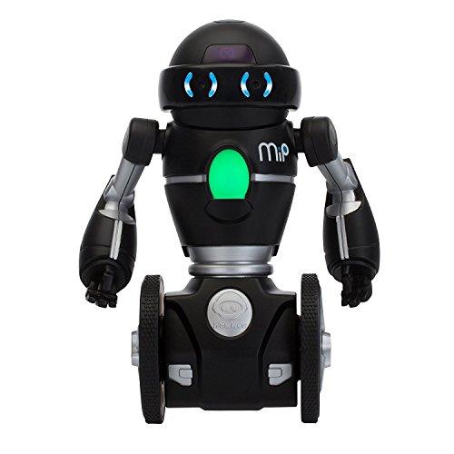 Wowwee Mip Robot Domestico Multimediale, Nero Argento, 3 anni+