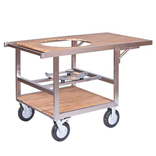 Monolith Buggy mit Seitentisch für Keramikgrill Classic