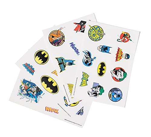 Erik Gadget Decals / 35 Abziehbild DC Comics Batman - wasserdichte und wiederverwendbare Aufkleber für Laptop, Smartphone, Tablet