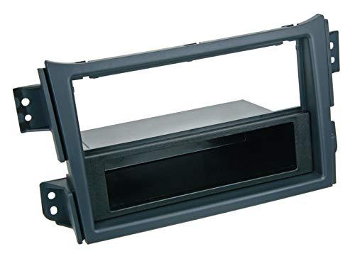 2-DIN RB mit Fach Suzuki Splash / Opel Agila > schwarz