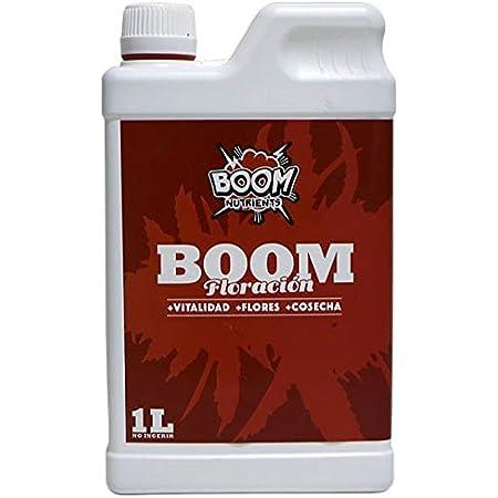 Boom Nutrients   Abono de Floración Líquido/Fertilizante para Plantas/Abono para Flores   Floración Boom (1L)