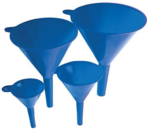 Kraftmann 8029 | Trichter-Satz | 4-tlg. | Ø 50 - 75 - 100  - 125 mm | Set | Kunststoff / Plastik | Einfüllhilfe