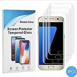 Weinstock-Science |3D 3X Schutzfolie für Samsung Galaxy S7 | Schutzfolie, Displayfolie, Folie, Displayschutzfolie, Kein Panzerglas