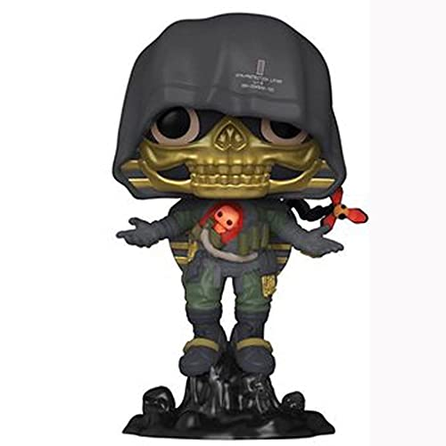 Death Stranding Pop Figure Higgs Monaghan Chibi Vinly PVC Decor Collection Model Collector's Item
