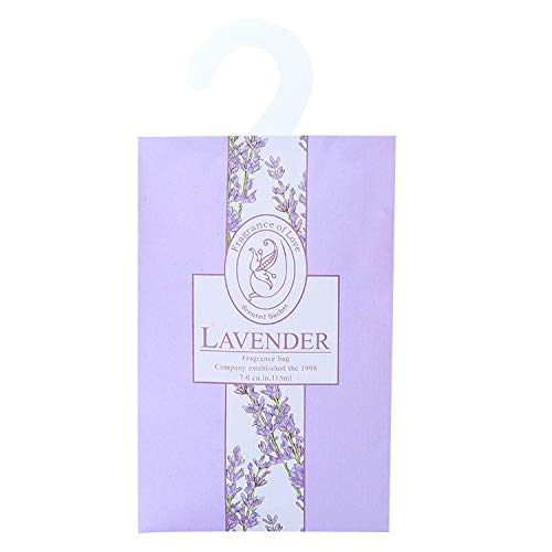QVQIU 30 Pack Lavender Scented Sachets Car Scent for Deworming and Deodorizing Room Fragrance Wardrobe Freshener Scented Drawer Liners