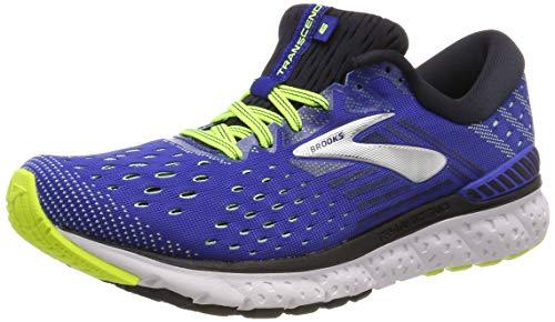 Brooks Transcend 6, Zapatillas de Running para Hombre, Multicolor (Blue/Black/Nightlife 419), 42.5 EU