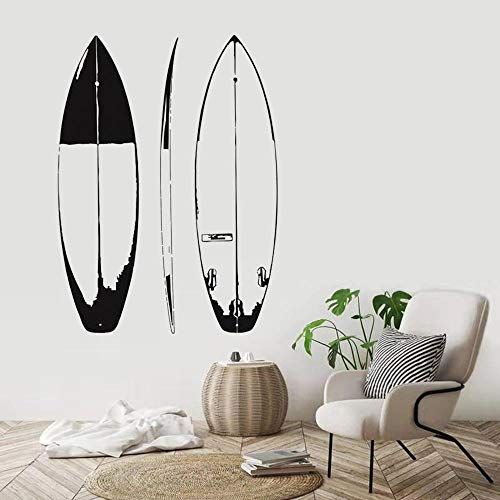 MXFFW Papel Autoadhesivo, Tabla De Surf Deportes Extremos, Pegatina De Pared Diseño Diy, Calcomanía De Vinilo - 22.44_x_30.31_inch