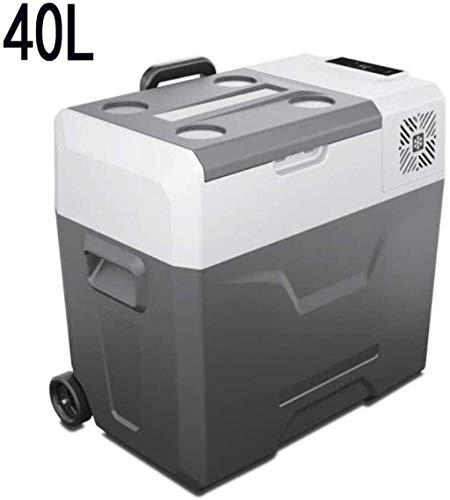 Compresor portátil Refrigerador Congelador (30, 40,50 litros) Mini AC 220V / 240V o CC 12 V / 24 V Desarrollado enfriador |Alimentos, bebidas, 50l-coche Uso 1yess (Color : 40lcar Use)
