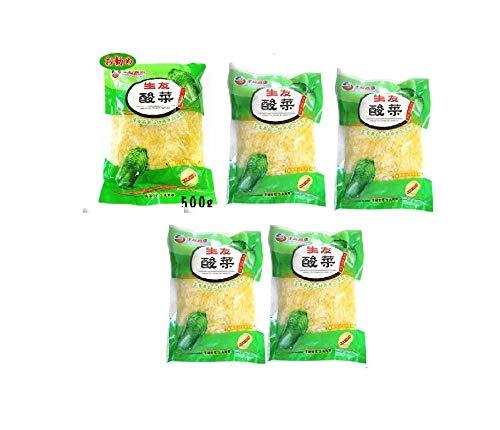 酸菜 白菜の酢漬 5点セット 500g×5