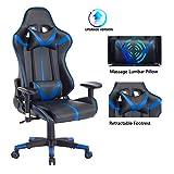 Blue Whale Gaming Chair PC Computer Chair Ergonomic Video Game Chair...