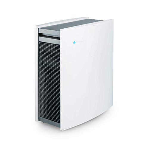 Blueair Classic 480i Air Purifier with HEPASilent Technology and DualProtection Filters for relief from Allergies, Pets, Dust, Asthma, Odors, Smoke - Medium to Large Rooms (Renewed)