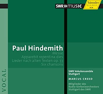 Hindemith: Messe - Apparebit repentina dies