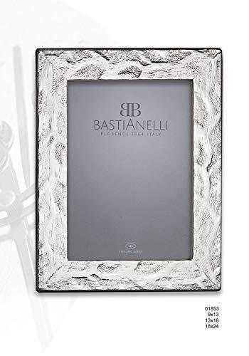 Bastianelli Marco 9 x 13 de plata 925 % plana coral