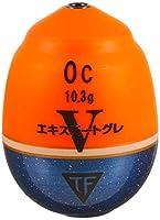 釣研(TSURIKEN) ウキ エキスパートグレV オレンジ 0C