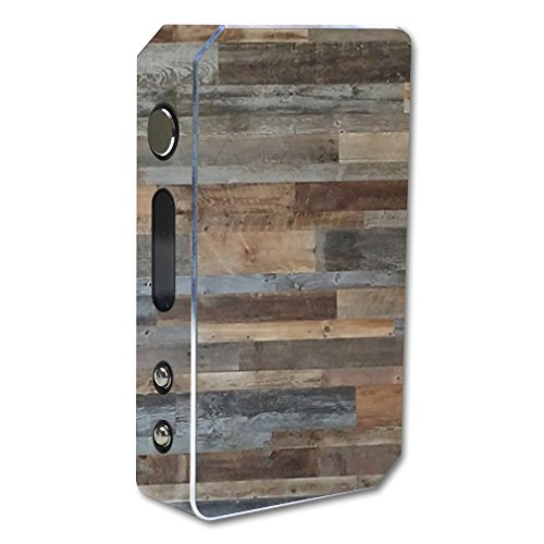 MightySkins Skin Compatible with Pioneer4You iPV3 Li 165W – Gray Wood | Protective, Durable, and Unique Vinyl Decal wrap Cover | Easy to Apply, Remove, and Change Styles | Made in The USA