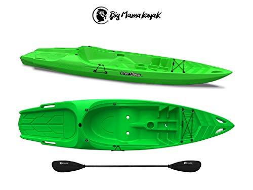 Big Mama Kayak Skippy Canoa da 305 Cm Kayak Posti 1+1 (1 Adulto + 1 Bambino) + Pagaia...