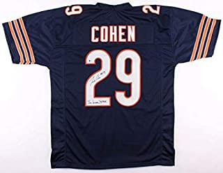 Tarik Cohen Autographed Signed Pro Style Jersey with Inscp. & Beckett Coa #J14913