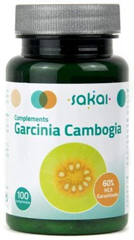 Sakai –Garcinia Gambogia –Quemagrasas, pierde peso y adelgaza – Efecto Saciante, controla el apetito – Aumenta tu energía - TITULADO AL 60% EN HCA
