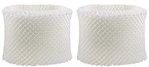 Nispira Humidifier Wick Filter Replacement Compatible with Holmes HWF75 HWF75CS HWF75PDQ-U Filter D Fits White Westinghouse, Sunbeam, 2 Packs