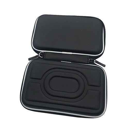 Meijunter Custodia rigida in EVA Cassa Borsa Case Bag per Nintendo Gameboy Advance GBA Gameboy Color GBC consolle (Nero)