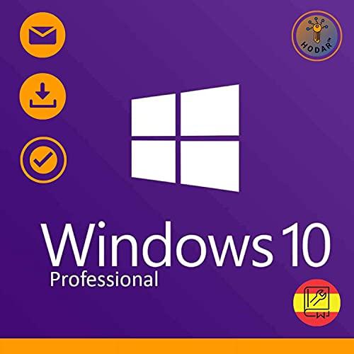 Windows 10 Pro Professional 32/64 bits Licencia de por vida Key/Entregada en 12 horas por correo electrónico o información de Amazon