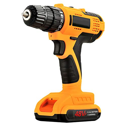 MSKJ Electric Screw Driver Drill Cordless Drill Woodworking Tool Rechargeable Woodworking Drills
