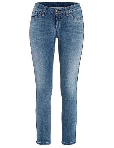 Vervangende jeans blauw gewassen voor dames